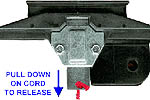 Chain drive carriage for a Genie garage door opener