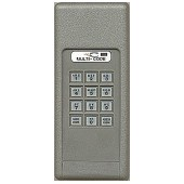 Wireless keyless entry for a Multi-Code remote contol system